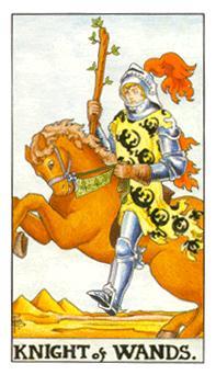 权杖骑士正位