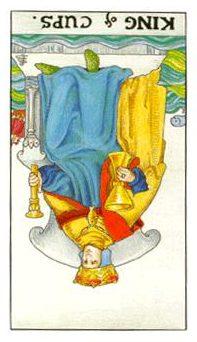 圣杯国王逆位