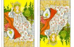 塔罗牌皇后