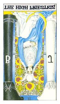 女祭司逆位