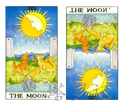 塔罗牌月亮